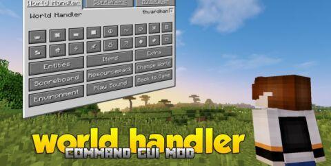 World Handler [1.16.4] [1.15.2] [1.14.4] [1.12.2] (консольные команды)