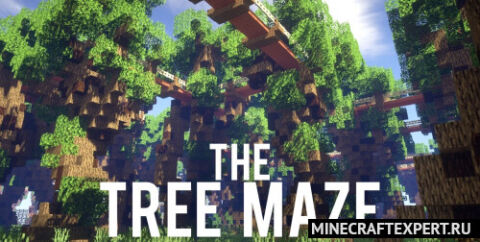Tree Maze [1.15.2] (Лабиринт из деревьев)