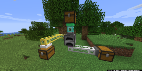 Refined Pipes [1.16.4] [1.15.2] (трубы)