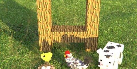 Animania Farm [1.12.2] (коровы, свиньи и курицы)