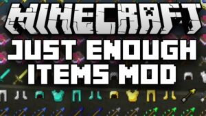 Just Enough Items (JEI) [1.14.4] [1.13.2] [1.12.2 — 1.8.9]