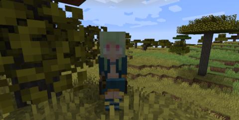WanderMaid [1.14.4] (девушка странствующий торговец)