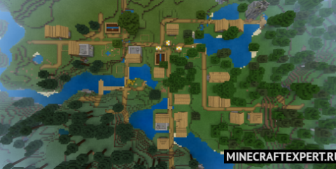 Сид — Деревня с тремя кузницами и крепостью с порталом [1.17] [1.16]