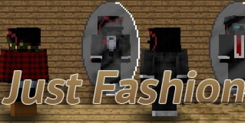 Just Fashion [1.17.1] [1.16.5] [1.14.4] [1.12.2] (мод на одежду)