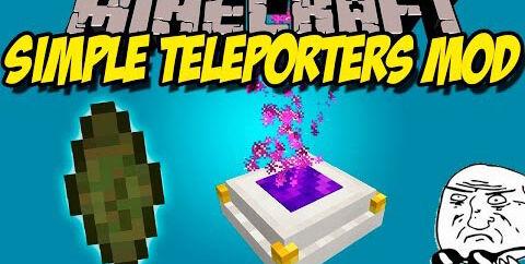 Simple Teleporters — простые телепорты [1.15] [1.14.4] [1.12.2] [1.10.2]