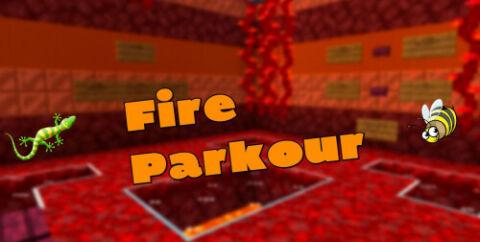 Огненный паркур [1.17.1]