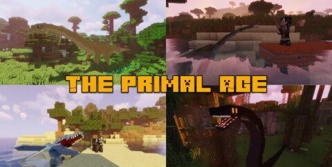 The Primal Age [1.12.2] (мод на динозавров)