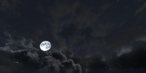 Dramatic Skys — реалистичные облака [1.16.5] [1.15.2] [1.12.2] (16x)