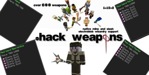 dotHack Weapons [1.15.2] [1.14.4] [1.12.2] (Мечи, топоры, косы и посохи)