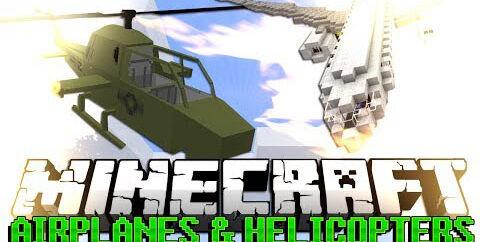 MCHeli [1.7.10] [1.6.4] [1.5.2] — вертолеты и самолеты
