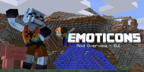 Emoticons [1.12.2] [1.8.9] (38 эмоций)