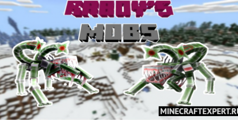 Raboy's Mobs [1.17] [1.16] — Белый спайк