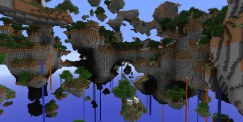 Skylands — летающие острова [1.12.2] [1.11.2] [1.10.2]