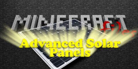 Advanced Solar Panels — солнечные панели [1.11.2] [1.10.2] [1.7.10]