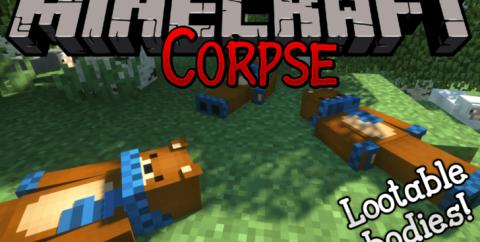 Corpse [1.16.5] [1.15.2] [1.12.2] (сохранение вещей после смерти)