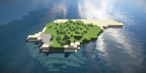 Сид с пустым островом посреди океана [1.9.4] [1.8.9] [1.7.10]
