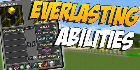 Everlasting Abilities [1.16.5] [1.15.2] [1.12.2] (пассивные способности)