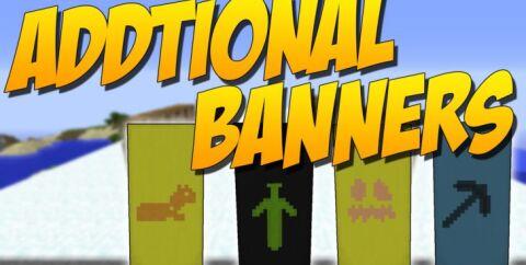 Additional Banners [1.16.3] [1.12.2] (узоры для флагов)