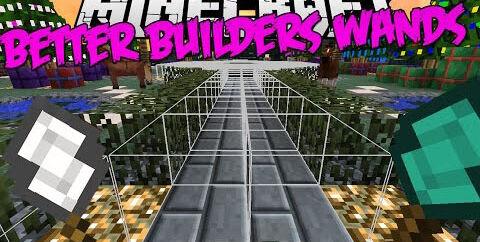 Better Builder's Wands  [1.17.1] [1.16.5] [1.15.2] [1.12.2] — жезлы строительства