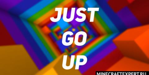 Just go up [1.16.5] — паркур длинной 1000 блоков