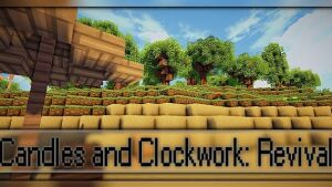 Candles and Clockwork Revival Resource Pack 1.7.10/1.7.9/1.7.2 [16x]