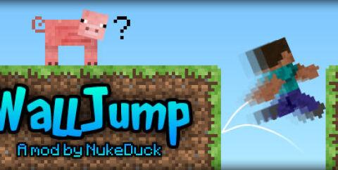 Wall-Jump! [1.16.5] [1.15.2] [1.12.2] (прыжок от стены, двойной прыжок)