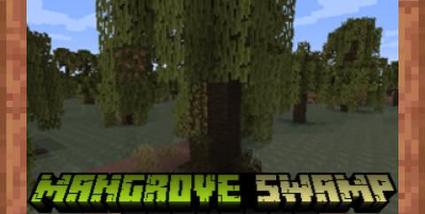 Mangrove Swamp Backport [1.16.5] [1.15.2] — новый биом из 1.19