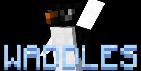 Waddles [1.17.1] [1.16.5] [1.15.2] [1.12.2] — Пингвины