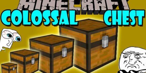 Colossal Chests [1.16.5] [1.15.2] [1.12.2] (вместительные сундуки)