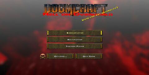 Doom Craft ресурс пак [1.14.4] (32x)