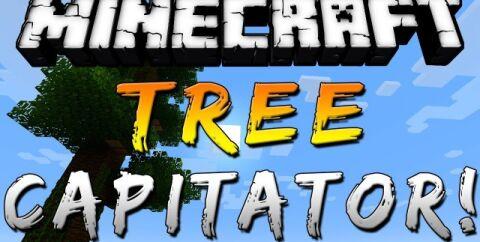 TreeCapitator [1.12.2] [1.7.10] (мод на рубку деревьев)