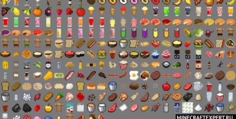 Lots More Food [1.16] [1.14] (очень много еды)