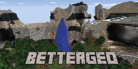 BetterGeo — генератор реалистичных миров [1.12.2] [1.7.10]