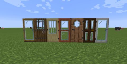 Modern Glass Doors — стеклянные двери [1.14.4]