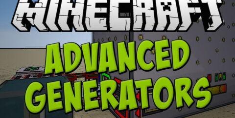 Advanced Generators — продвинутые генераторы RF и EU [1.12.2] [1.11.2] [1.10.2] [1.7.10]