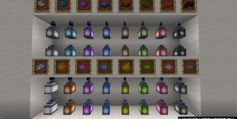 Lantern Colors [1.17.1] [1.16.5] [1.15.2] — цветные фонари