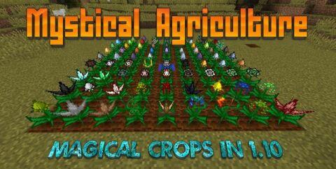 Mystical Agriculture [1.16.5] [1.15.2] [1.12.2] (фермы мобов и руды)