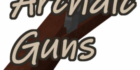 Archaic Guns [1.12.2] (мушкетон, мушкет и пистолет)