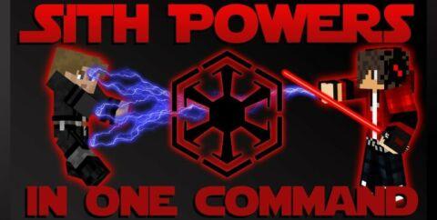 Sith Powers — красный световой меч и способности ситхов [1.12.2]