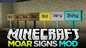 MoarSigns [1.9.4] [1.8.9] [1.7.10]