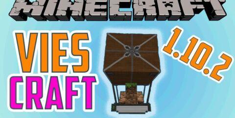 ViesCraft [1.12.2] [1.11.2] [1.10.2] [1.9.4] (Дирижабль)