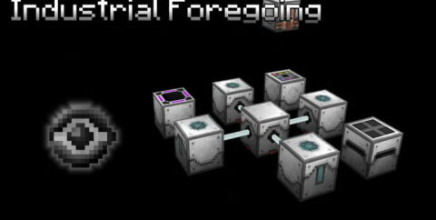 Industrial Foregoing [1.16.4] [1.15.2] [1.14.4] [1.12.2] (автоматический сбор ресурсов)