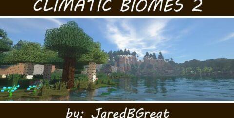 Climatic Biomes [1.14.4] [1.12.2] (климатические зоны и биомы)