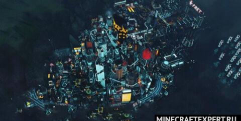 Найт-Сити из Cyberpunk [1.14.4] [1.12.2]