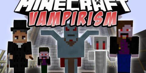 Vampirism [1.16.5] [1.15.2] [1.12.2] [1.7.10] (вампиры)