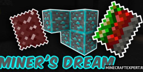 Miner's Dream Plus [1.16] (шахтерские заклинания)