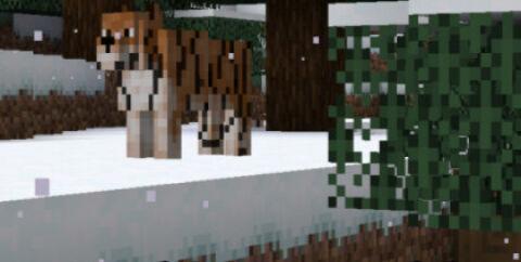 AmbientWorld [1.16.5] (мод на тигра, льва, жирафа и обезьяну)