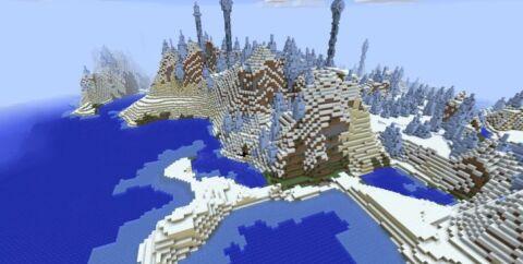 Сид с биомом — равнина ледяных шипов [1.12.2]