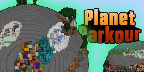 Planet Parkour [1.16.5] (планета паркура)