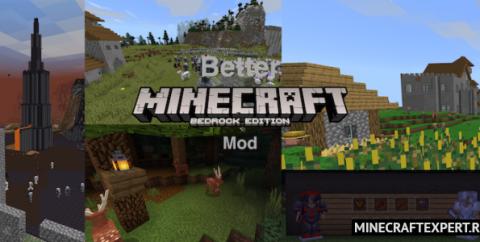Better Minecraft [1.16] (биомы и структуры)